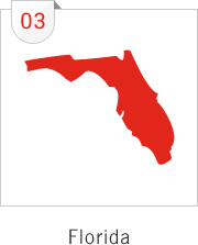 Florida has the third most number of submissions