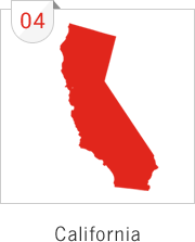 California has the fourth most number of submissions